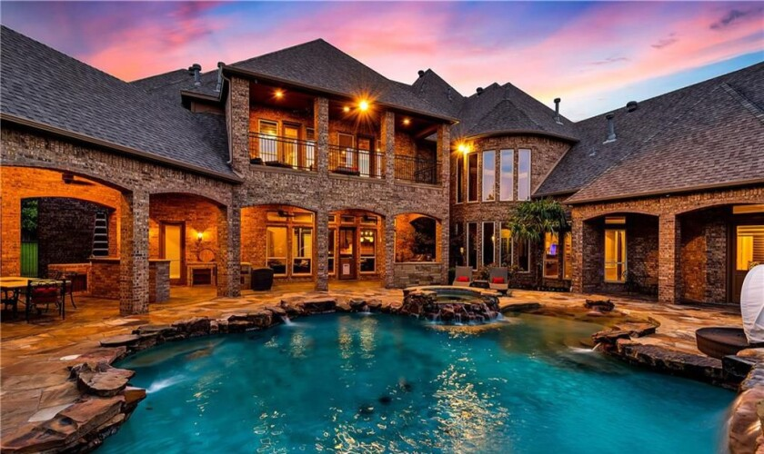 Shin-Soo Choo's Texas mansion