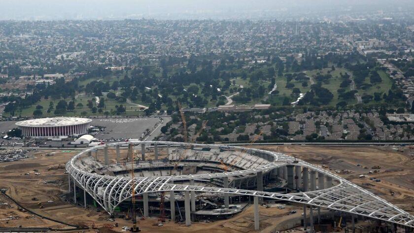 Markazi: Inglewood stadium only a year away from its big ...