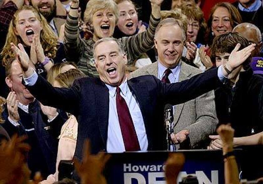 In 2004, former Vermont Gov. Howard Dean filled the role Sen. Bernie Sanders of Vermont has in this election.