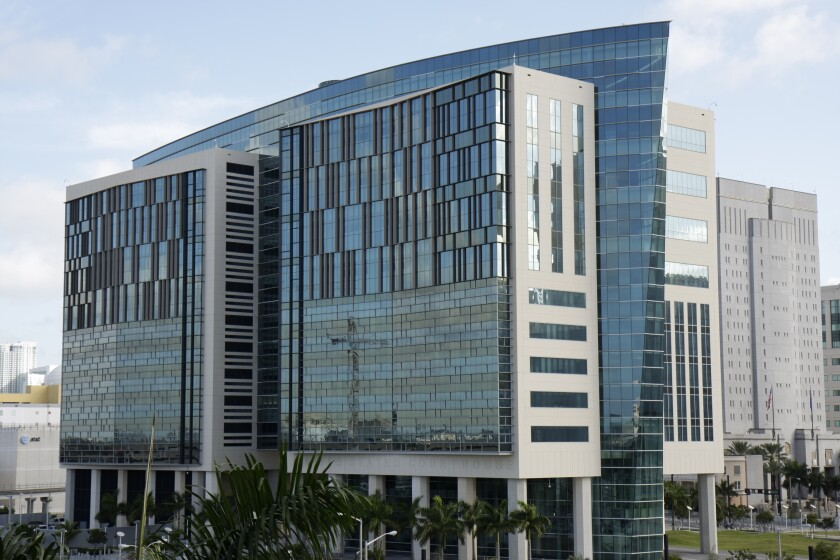 The Wilkie Ferguson Federal Courthouse in Miami.