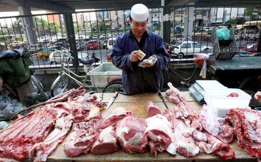China needs more soybeans and corn to feed its growing livestock industry. Rising incomes and urbanization has helped double per-capita meat consumption in China since 1992 to 52.5 kilograms.