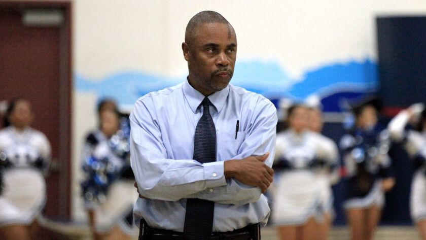 Mater Dei Catholic girls basketball coach David Monroe would like to see teams rewarded for playing a tough schedule.
