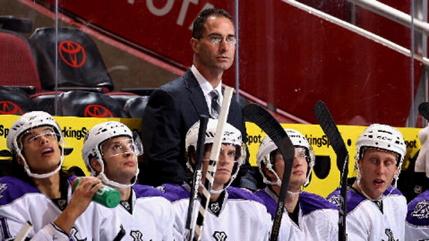 John Stevens served as the Kings' interim coach before Darryl Sutter was hired.