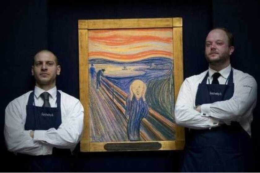 """A version of Edvard Munch's """"The Scream,"""" sold in May for close to $120 million. The buyer has been revealed to be New York financier Leon Black."""