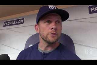 Padres recall outfielder Franmil Reyes; option Walker Lockett to El Paso