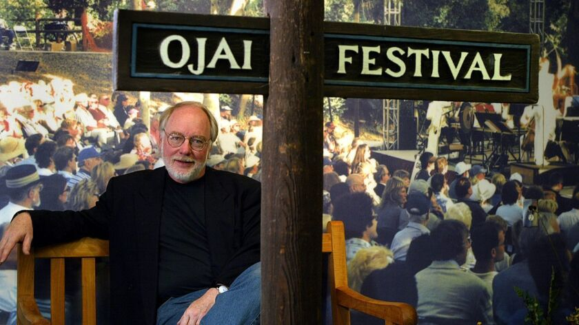 Thomas Morris in 2004 when he first became artistic director of the Ojai Music Festival.