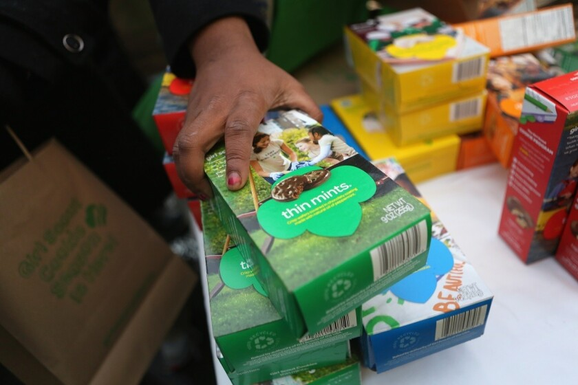 Girl Scout Cookies are called different things across America, and our minds are blown