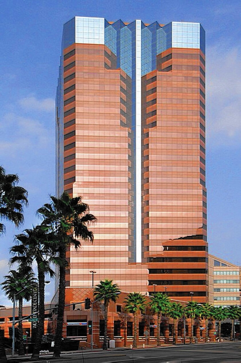 Long Beach's One World Trade Center is sold at a steep discount