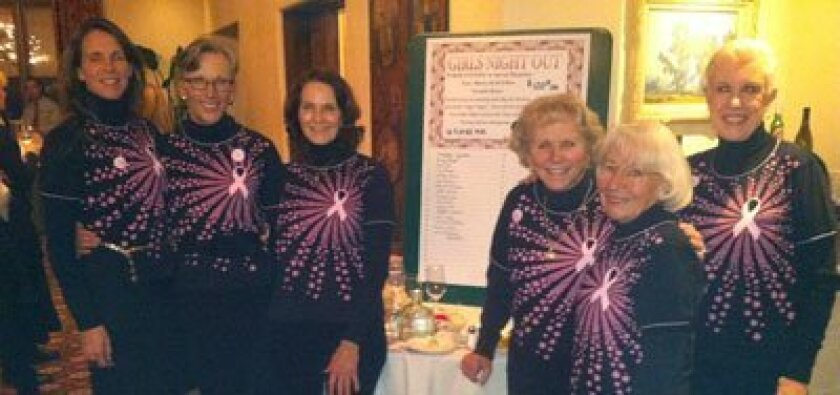 Ladies at the Poker Party: Deana Ingalls, Joan Flowers, Kathy McElhinney, Dolores Crawford, Joyce Burns, Sharon Considine.