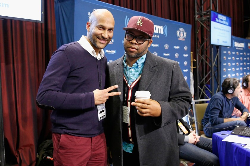 "Comedians Keegan-Michael Key, left, and Jordan Peele will have a four-episode arc on the FX series ""Fargo."""