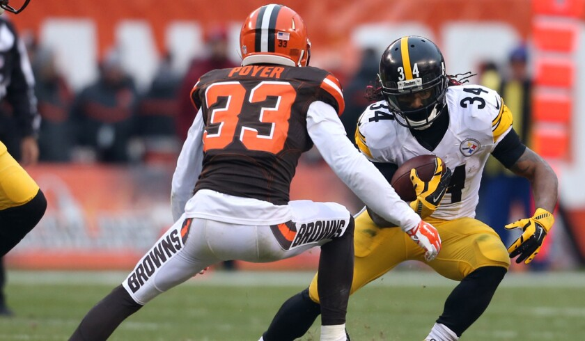 b3968f47 Steelers rule out running back DeAngelo Williams for playoff game ...