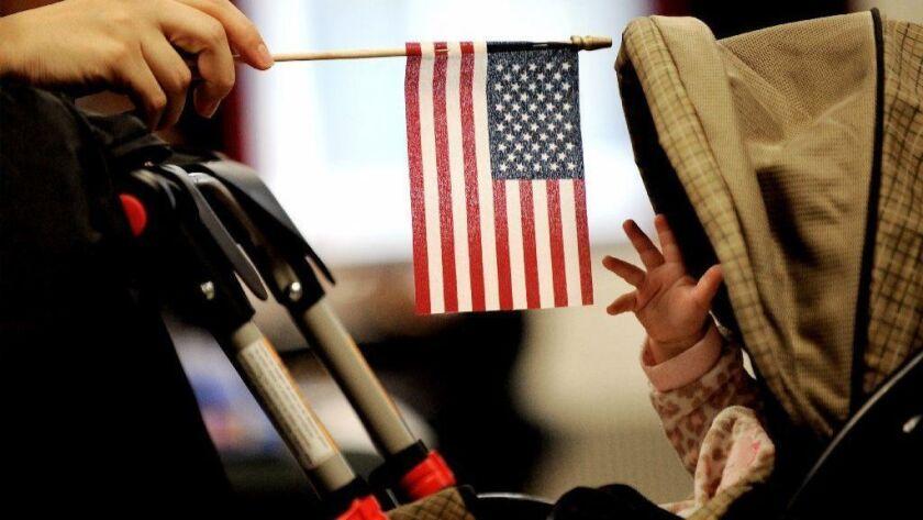 Trump plans to end birthright citizenship, New York, USA - 14 Jan 2011
