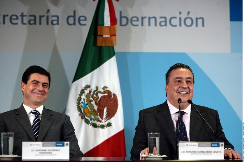 La Secretaría de Relaciones Exteriores (SRE) confirmó el nombramiento de Gerónimo Gutiérrez Fernández como Embajador de México en Estados Unidos, en sustitución de Carlos Sada.