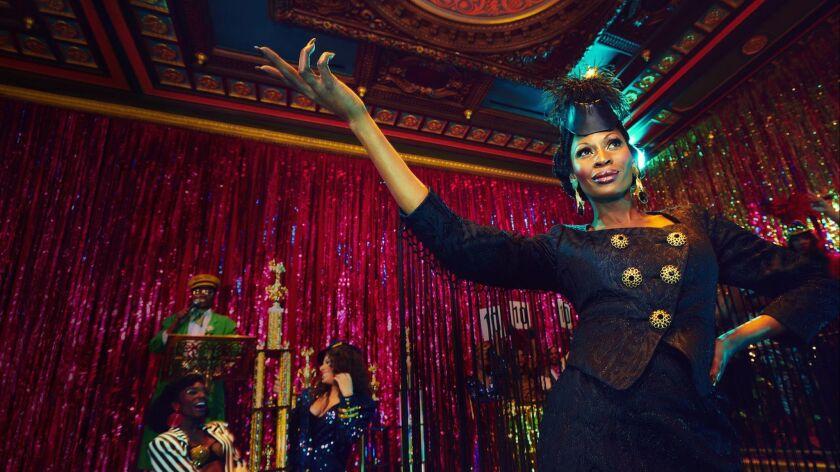 "Dominique Jackson stars as Elektra in ""Pose."""