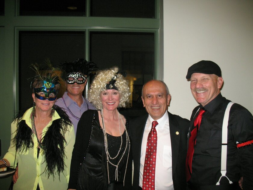 From left: Holly and Randy Malan, Susie O'Donnell, Escondido Mayor Sam Abed, and Paul Brinkman at the 10th Annual Coeur de Cuisine, held Feb. 24 at the California Center for the Arts, Escondido. CREDIT: Cathy Hendrie