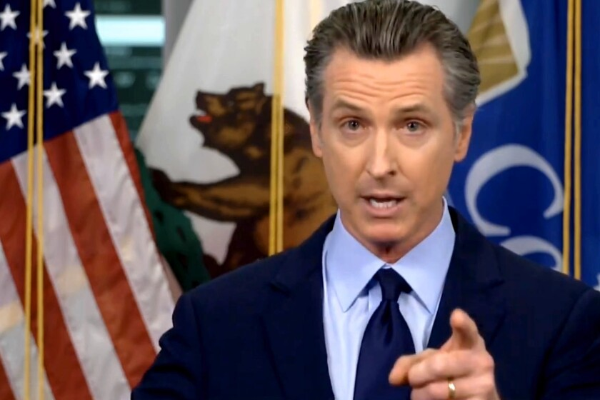 California Gov. Gavin Newsom discussed a possible statewide curfew amid a steep rise in coronavirus cases.