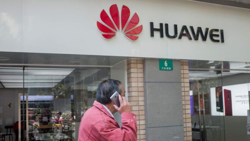 Huawei, China's largest smartphone manufacturer, was flagged by U.S. intelligence officials as posing a national security risk.