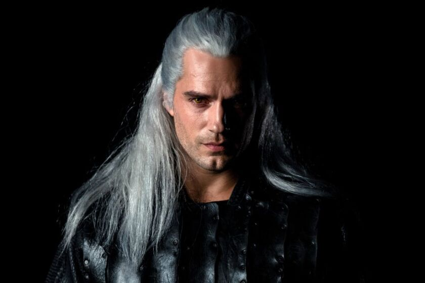 "Henry Cavill in ""The Witcher."""