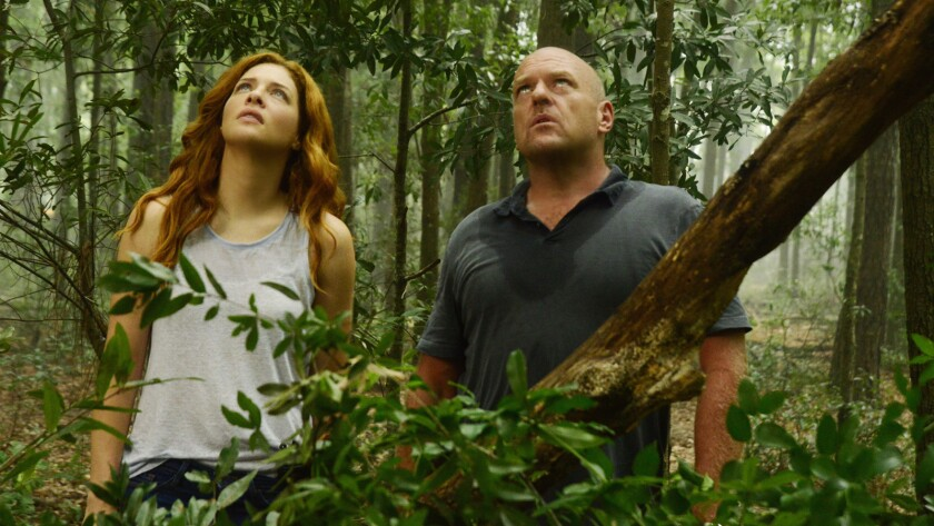 """It's coming down in CBS' """"Under the Dome"""" finale. With Rachelle Lefevre and Dean Norris."""