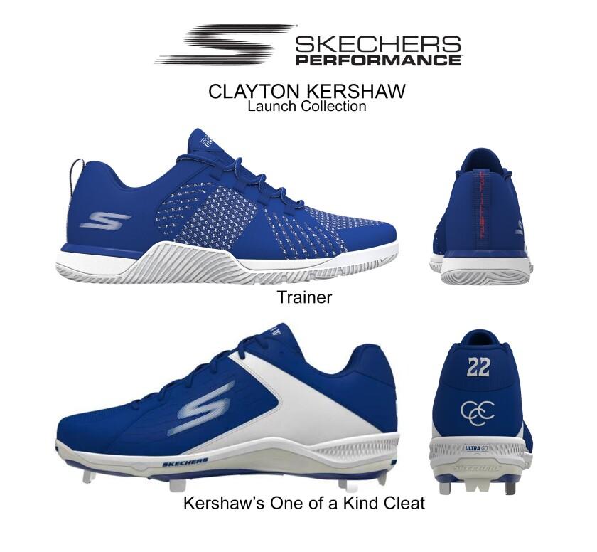 Clayton Kershaw Skechers