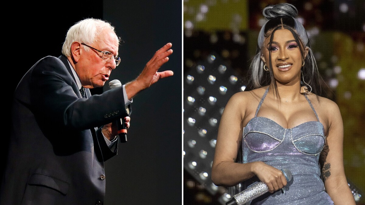 Cardi B And Bernie Sanders Have More In Common Than You Think