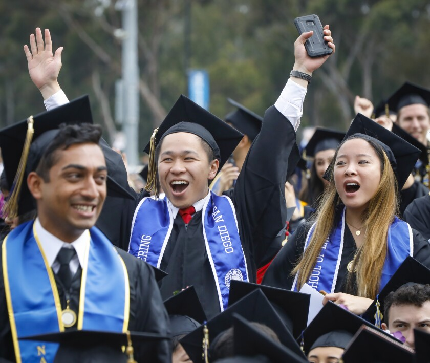 9,000+ UC San Diego students graduate during the all campus commencement
