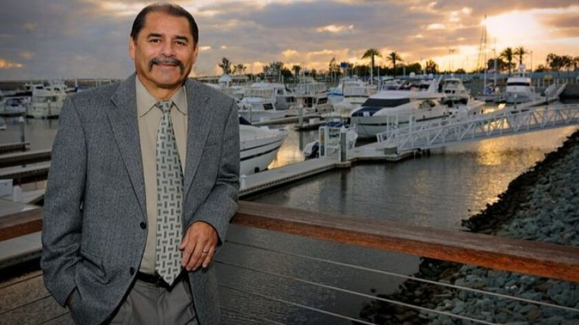 National City Port Commissioner Dukie Valderrama reappointed to fourth term