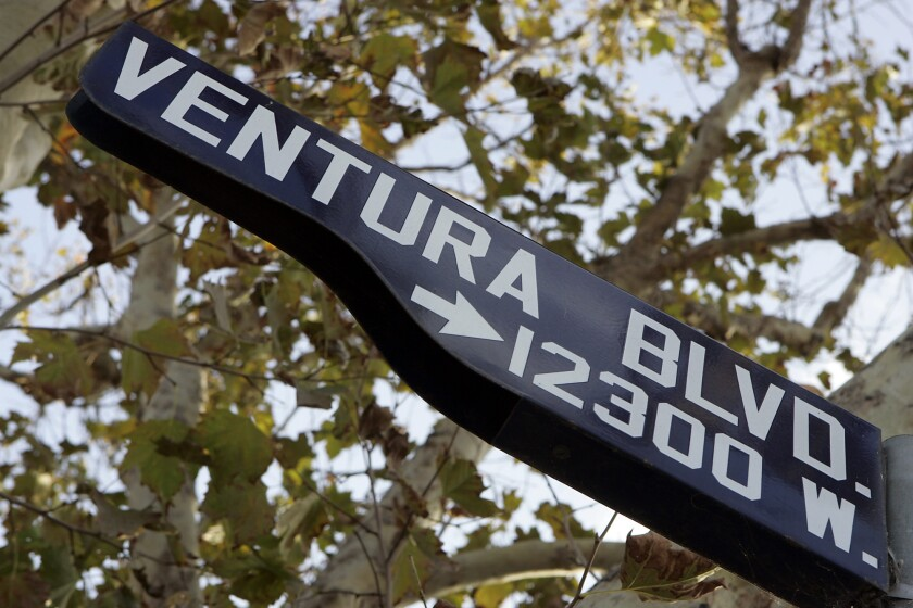 A slugfest over seats on the Studio City Neighborhood Council could result in two candidates being disqualified amid reports of electioneering. Ventura Boulevard is one of the area's main thoroughfares.