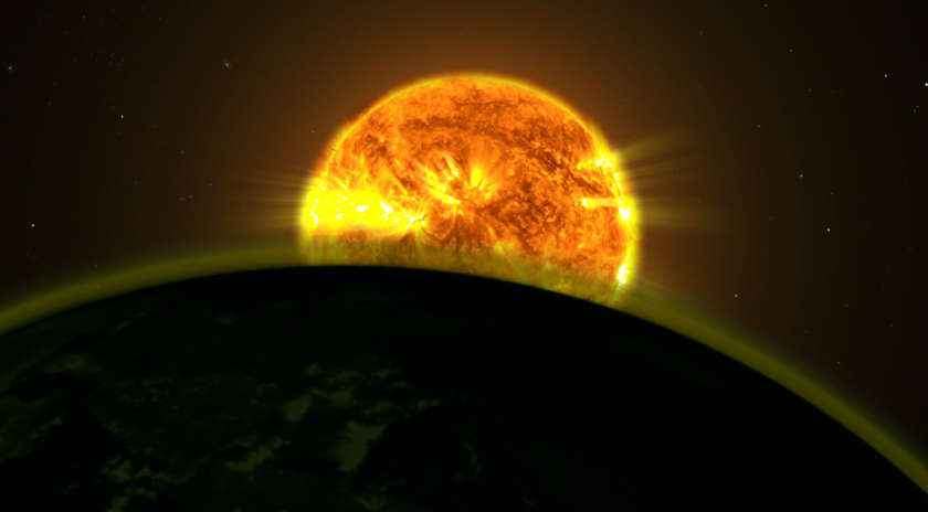 Scientists using the Hubble Space Telescope have found evidence of water vapor in the atmosphere of five exoplanets.