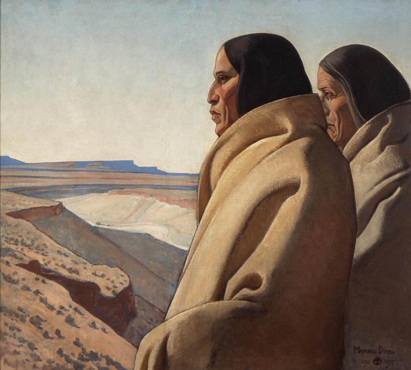 """Men of the Red Earth,"" 1931-32 by Maynard Dixon"