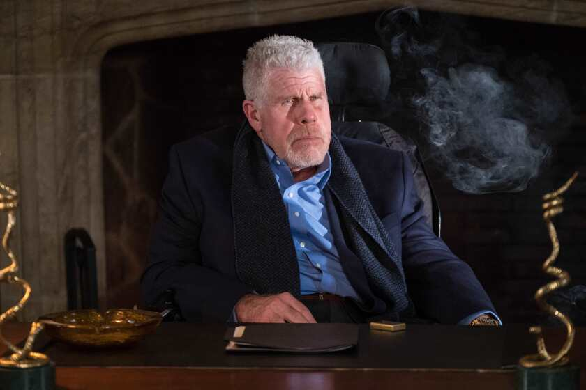 """Ron Perlman in the 2020 movie """"Clover"""""""