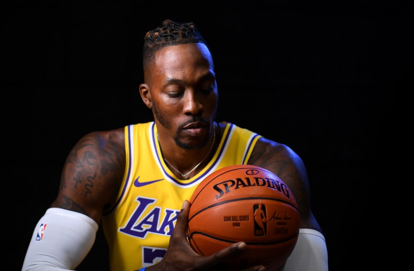 Dwight Howard returned to the Lakers after bouncing around the NBA for six years.