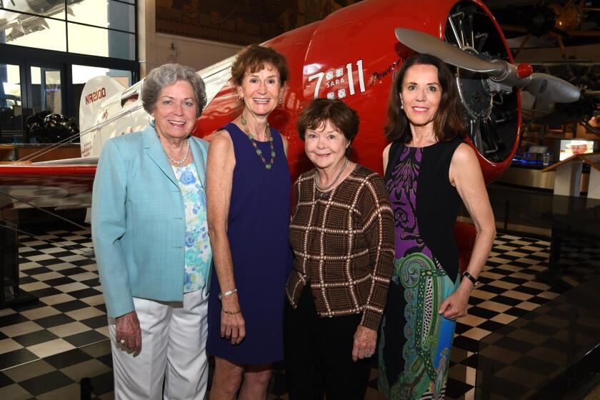 Doris Ellsworth (event co-chair), Holly Heaton (ARCS membership VP), Karen Bowden (ARCS-SD founder), Ellen Moxham (event co-chair)