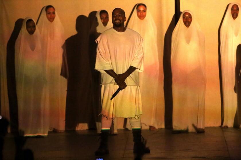 Kanye West at the Hollywood Bowl