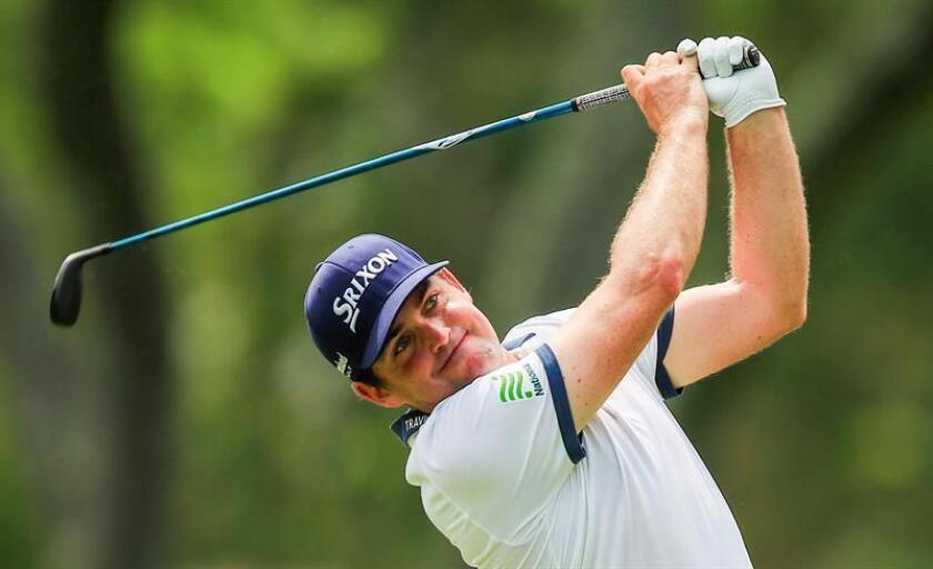 El golfista estadounidense Keegan Bradley . EFE/Archivo