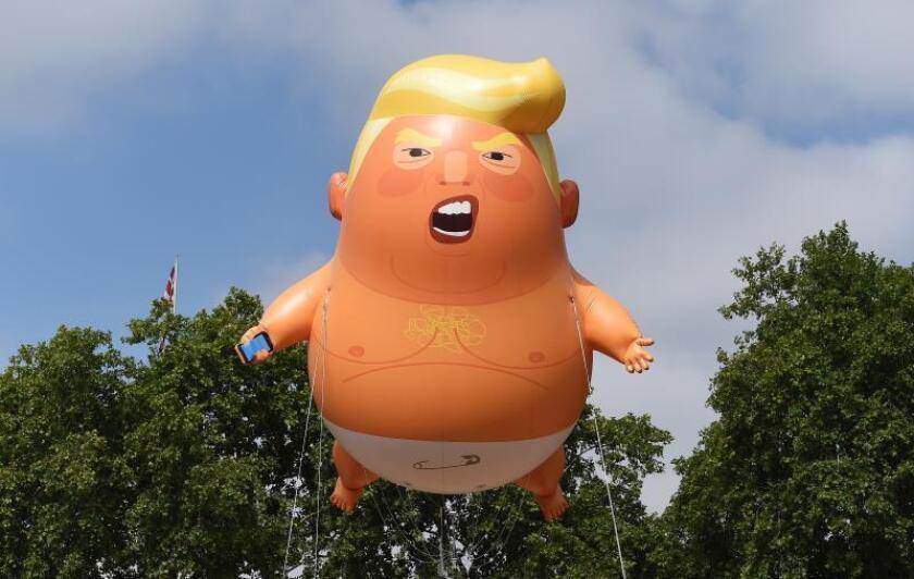 """""""Bebé Trump"""" estará en lanzamiento de campaña del presidente Trump en Orlando"""