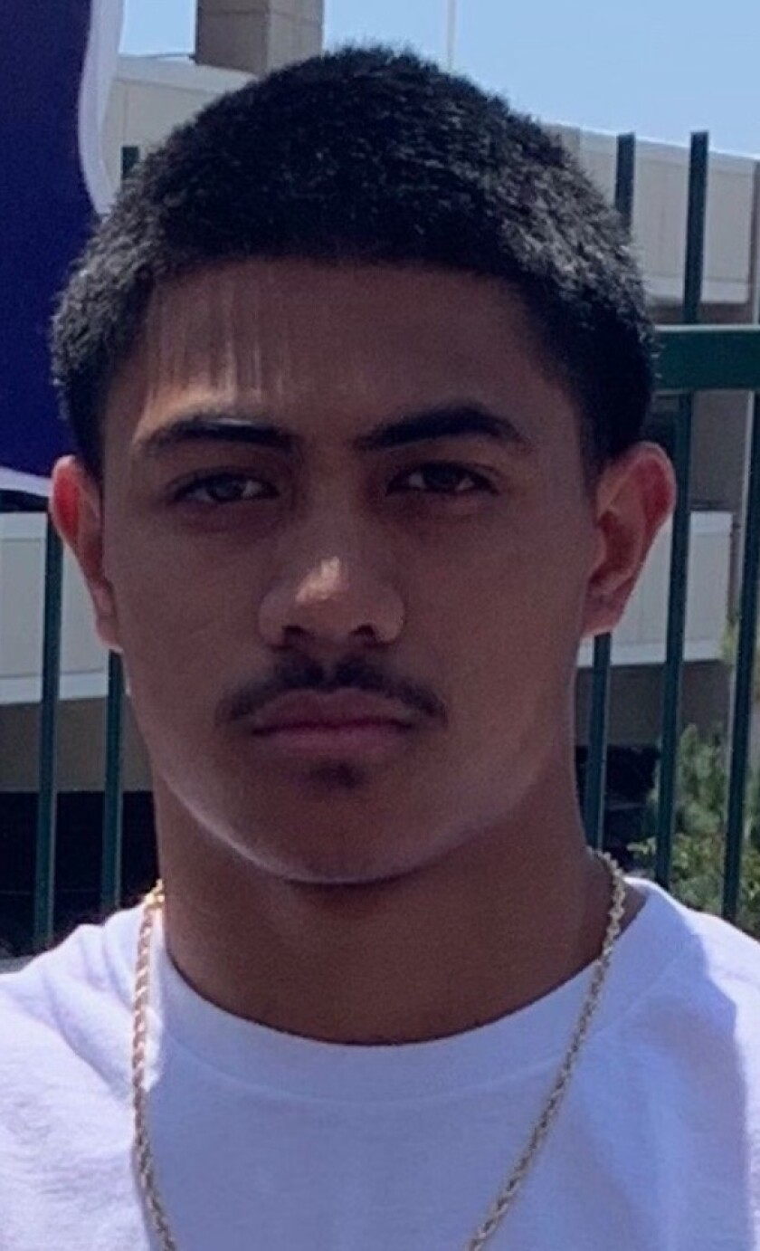 Junior safety New Zealand Williams of JSerra has 17 individual tackles in three games.