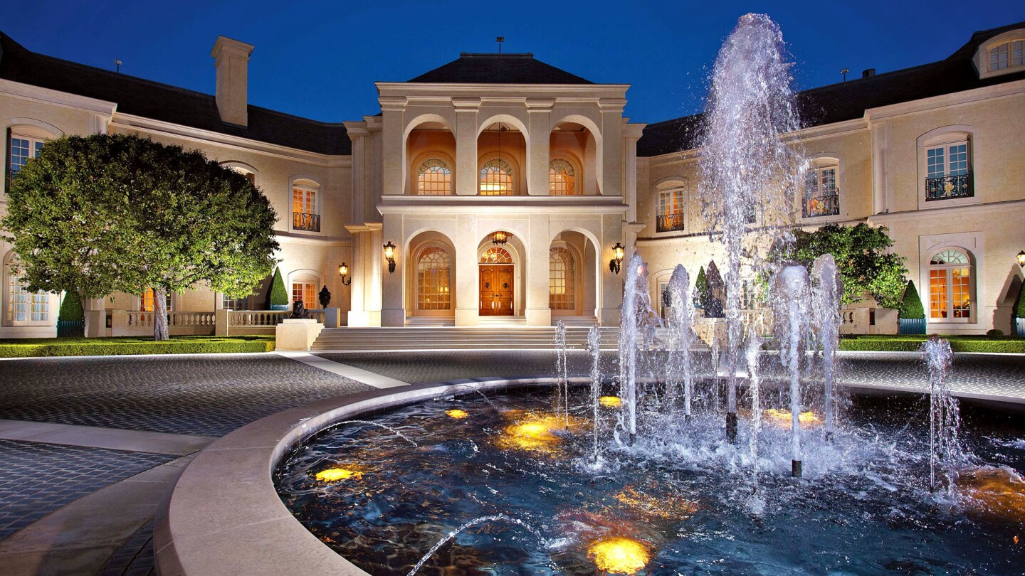 Even though it sold three years ago, the Spelling mansion on L.A.'s Westside has the second-highest property tax bill in the state. Owner Petra Ecclestone pays more than $1 million in property tax.