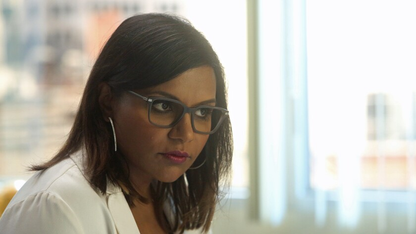"Mindy Kaling in ""The Mindy Project"" on Hulu."