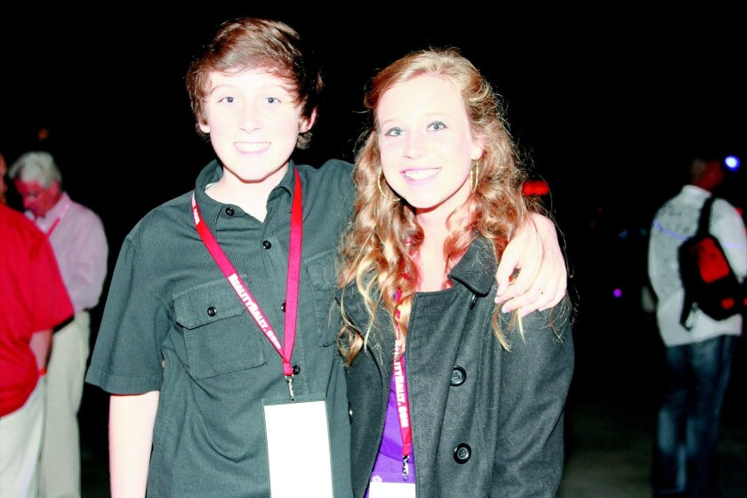 "Trevor Moran of ""The X Factor"" with Olivia Goodnough"