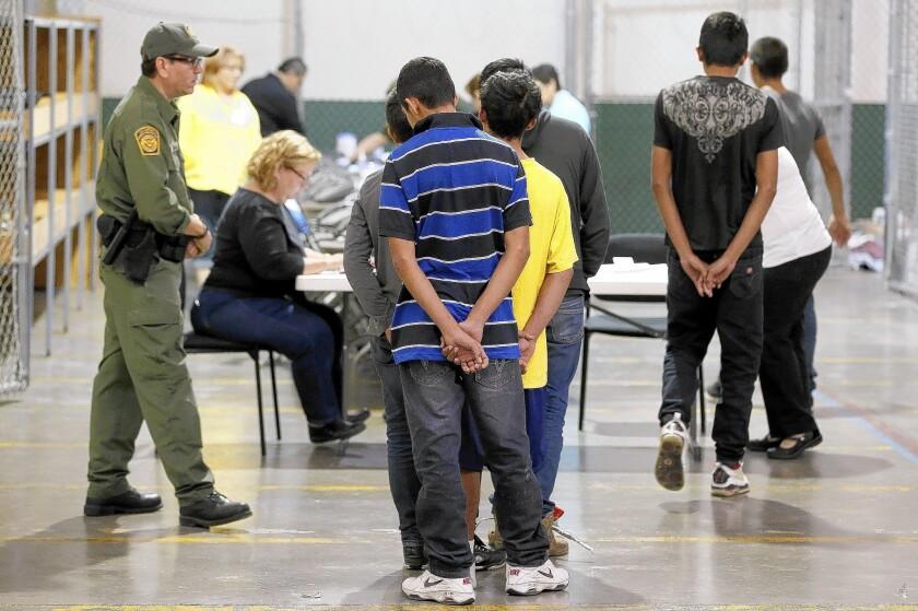 Immigration center in Nogales, Ariz.