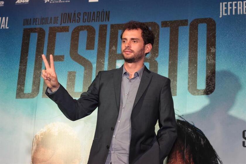 """En la imagen, el cineasta mexicano Jonás Cuarón, directo del filme """"Desierto"""". EFE/Archivo"""