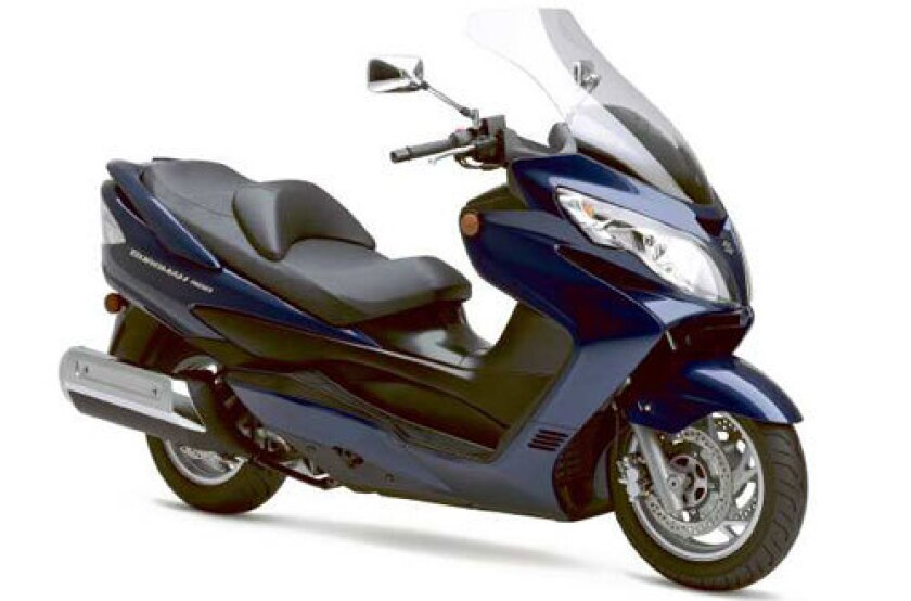 Suzuki has upped the ante on power, handling and emission controls for the '07 model of its Burgman 400 maxi-scooter.