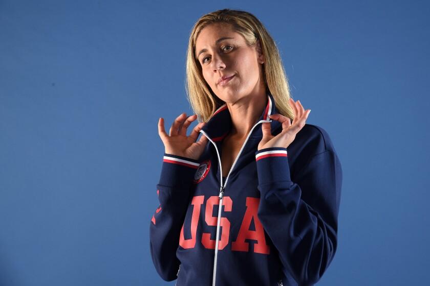U.S. beach volleyball player April Ross