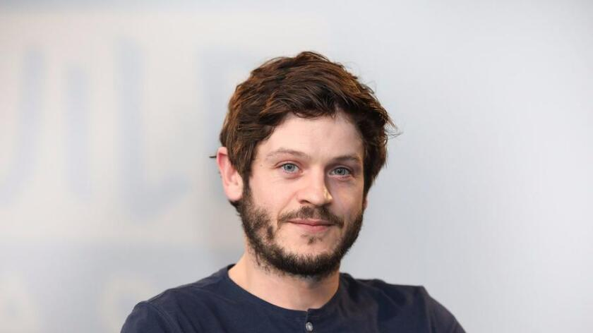 """Iwan Rheon, star of """"Inhumans,"""" poses for a photo in London. (Tim P. Whitby/Getty Images)"""
