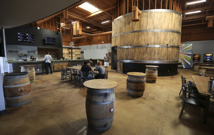 Wild Barrel Brewing. (Jamie Scott Lytle)
