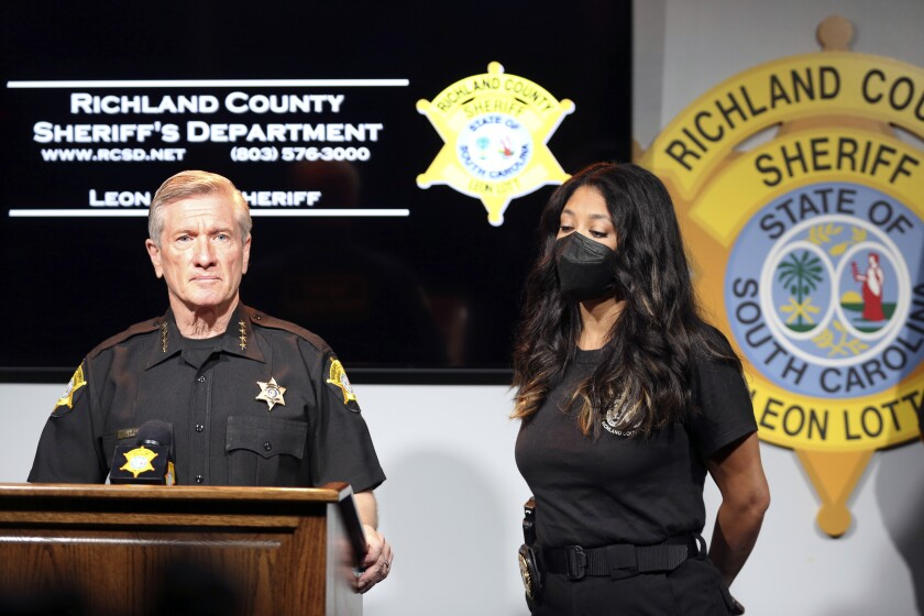 Richland County Sheriff Leon Lott and Coroner Nadia Rutherford talk about the heat deaths of two 20-month-old twin boys