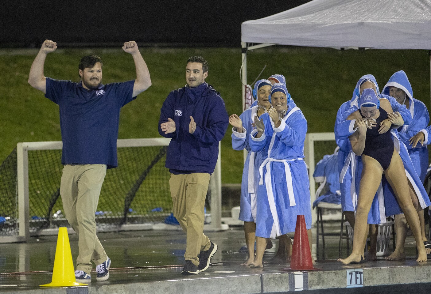 Photo Gallery: Corona del Mar vs. Orange Lutheran in girls' water polo