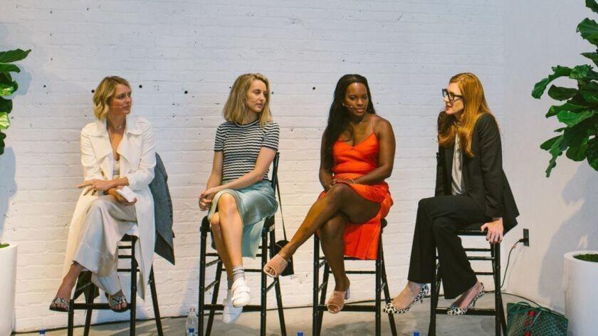 Anita Patrickson, Ashley Merrill, Sarah Kunst, April Uchitel