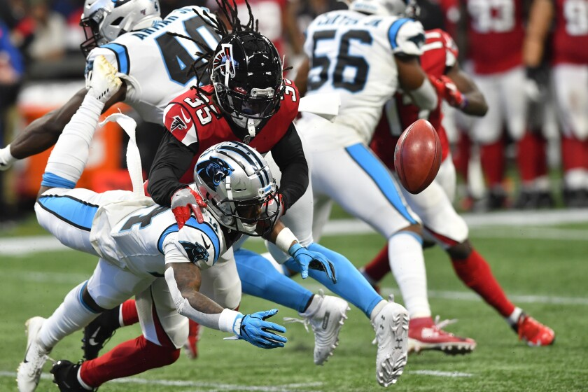 Panthers Falcons Football